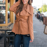 The Sabrina Jacket, Camel