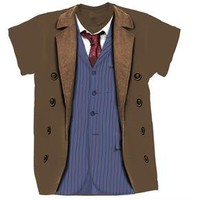 Doctor Who: T-Shirts: 10th Doctor Costume (Forbidden Planet Exclusive)