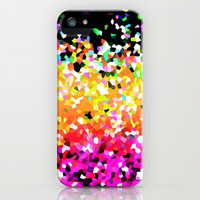 Mosaic Sparkley Texture G225 iPhone & iPod Case by MedusArt | Society6