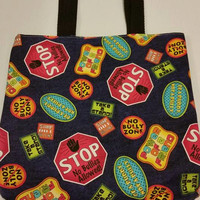 Stop school bullying totebag - READY TO SHIP