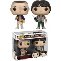 Stranger Things | Eleven & Mike POP VINYL [2 PACK]