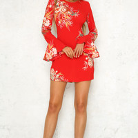 Perfect Fit Dress Red