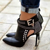 Crystal stiletto Classic boots