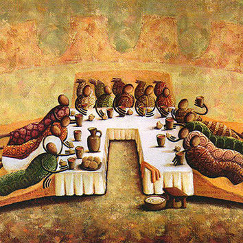 The Lord's Last Supper - Original - Ask for the Price