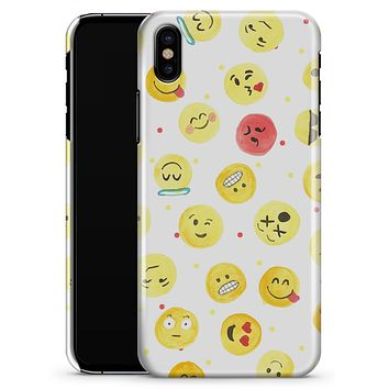 The All Over Emoji Pattern - iPhone X Clipit Case