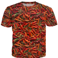 Drying Red Hot Chili Peppers
