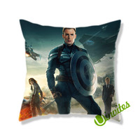 Captain America The Winter Soldier Square Pillow Cover