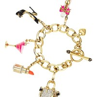 Limited Edition Luxe Glamour Charm Bracelet