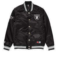 Majestic Athletic Oakland Raiders Varsity Jacket