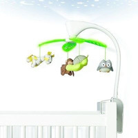 Skip Hop Moonlight & Melodies Projection Musical Baby Crib Mobile Safari NEW
