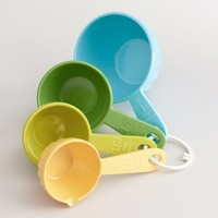 Spring Colors Melamine Measuring Cups, Set of 4