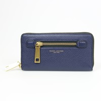 Marc Jacobs Midnight Blue Leather Wallet