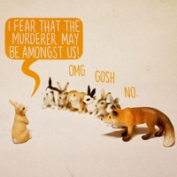 """""""Murder Mystery"""" - Art Print by Aled Lewis"""