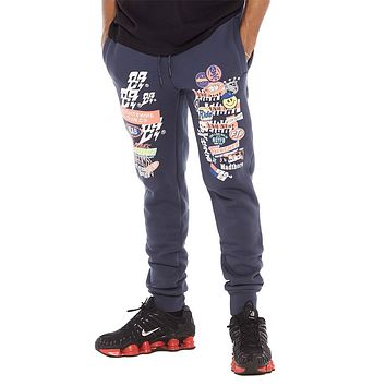 Garage Built 2.0 Mens Sweatpants Navy