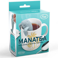 Fred & Friends Manatea Tea Infuser Blue One Size For Women 27681320001