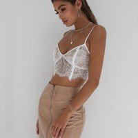 Buy Our Emery Top in White Online Today! - Tiger Mist