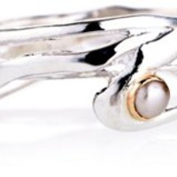 Seagrass Ring, Pearl, Bands