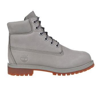 "Junior's 6"" Prem Boot 'Grey'"