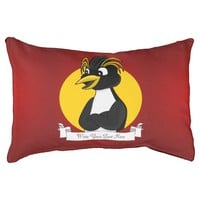 Rockhopper penguin cartoon small dog bed