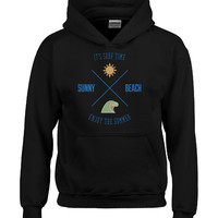 It s Surf Time Sunny Beach Enjoy The Summer - Hoodie