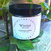 Winter body scrub