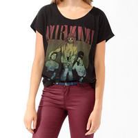 Oversized Nirvana Top
