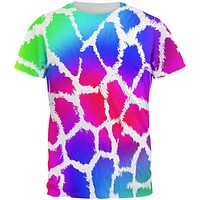 Show Your Colors Spots Gay Pride Rainbow All Over Mens T Shirt