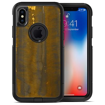 Dark Gold Reflection with Gold Specks - iPhone X OtterBox Case & Skin Kits
