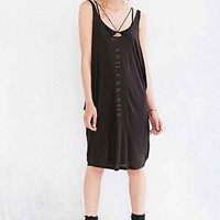 Truly Madly Deeply Numeral Lines Tank Dress-