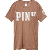 Campus Short Sleeve Tee - PINK - Victoria's Secret