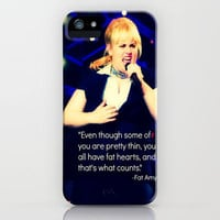 Fat Amy- pitch perfect iPhone Case by kenzienphotography | Society6
