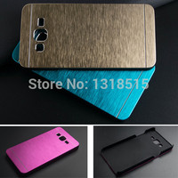 Luxury Brushed Metal Aluminium material phone case For Samsung Galaxy Grand Prime G530 G530h back case cover