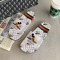 GG summer new double flat bottom all-match non-slip slippers shoes