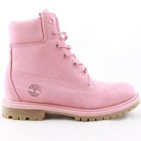 Timberland, (TB0A12LS) Women's 6 Inch Premium Boot - Pink - Women's Brands - MOOSE Limited
