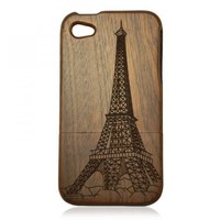 Bamboo iPhone4 Case- The Eiffel Tower