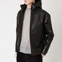 Maxwell Snow Leather Anorak - MEN - Maxwell Snow - OPENING CEREMONY