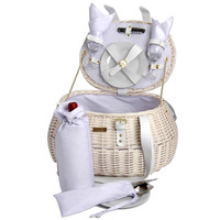 Willow Wedding Picnic Basket for 2 Persons