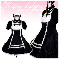 Cat Girl Maid Outfit ~ SIZE M