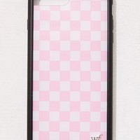 Wildflower Pink Check Please iPhone Case | Urban Outfitters