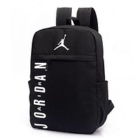Jordan Casual Fashion Simple School Backpack Travel Bag