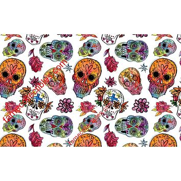 Sugar Skull Face Mask Day Of The Dead