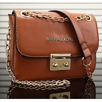 Mk Women Shopping Bag Leather Satchel Crossbody Shoulder Bag-14