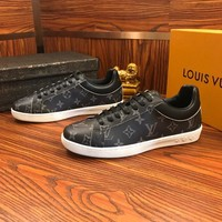 Louis Vuitton Lv Sneakers With Full Logo Black - Best Online Sale