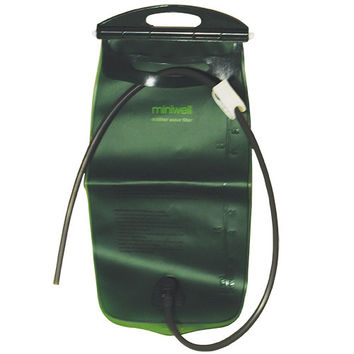 Miniwell Portable Water Gravity 72 oz Fresh Filtered Pouch