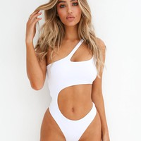 Buy Our Saturn Bodysuit in White Online Today! - Tiger Mist