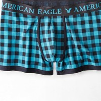 AEO 's Buffalo Check Low Rise Trunk (Alpha Turquoise)