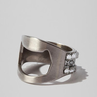 Urban Outfitters - Beer Bottle Opener Ring