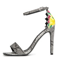 Cape Robbin Suzzy-66 Snake Women's High Heel