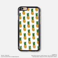 Yellow Pineapple Free Shipping iPhone 6 6 Plus case iPhone 5s case iPhone 5C case iPhone 4 4S case Samsung galaxy Note 2 Note 3 Note 4 S3 S4 S5 case 398-202