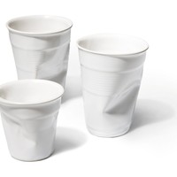 Crushed Cup - Set of 4 by Rob Brandt | Generate Design